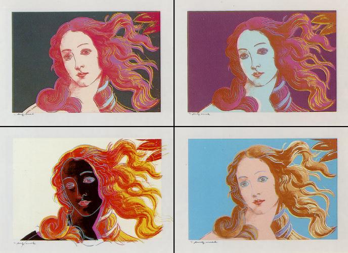 Venere Dopo Botticelli, 1966 - Andy Warhol
