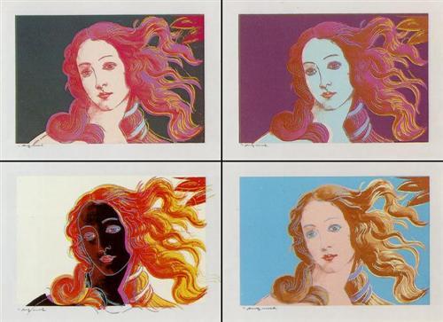 Venere Dopo Botticelli  - Andy Warhol