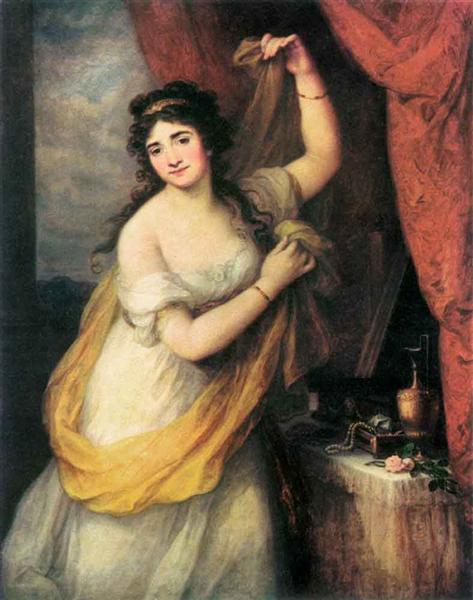 Portrait Of A Woman, 1795 - Angelica Kauffman
