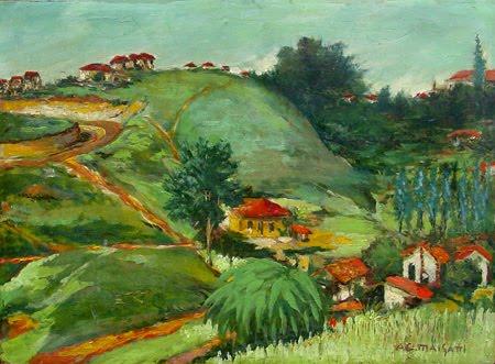Paisagem de Santo Amaro, 1920 - Anita Malfatti