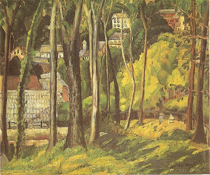Paisagem dos Pirineus (Cauterets), 1926 - Anita Malfatti
