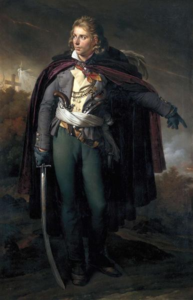 Jacques Cathelineau (1759-1793), généralissime vendéen, 1824 - Anne-Louis Girodet