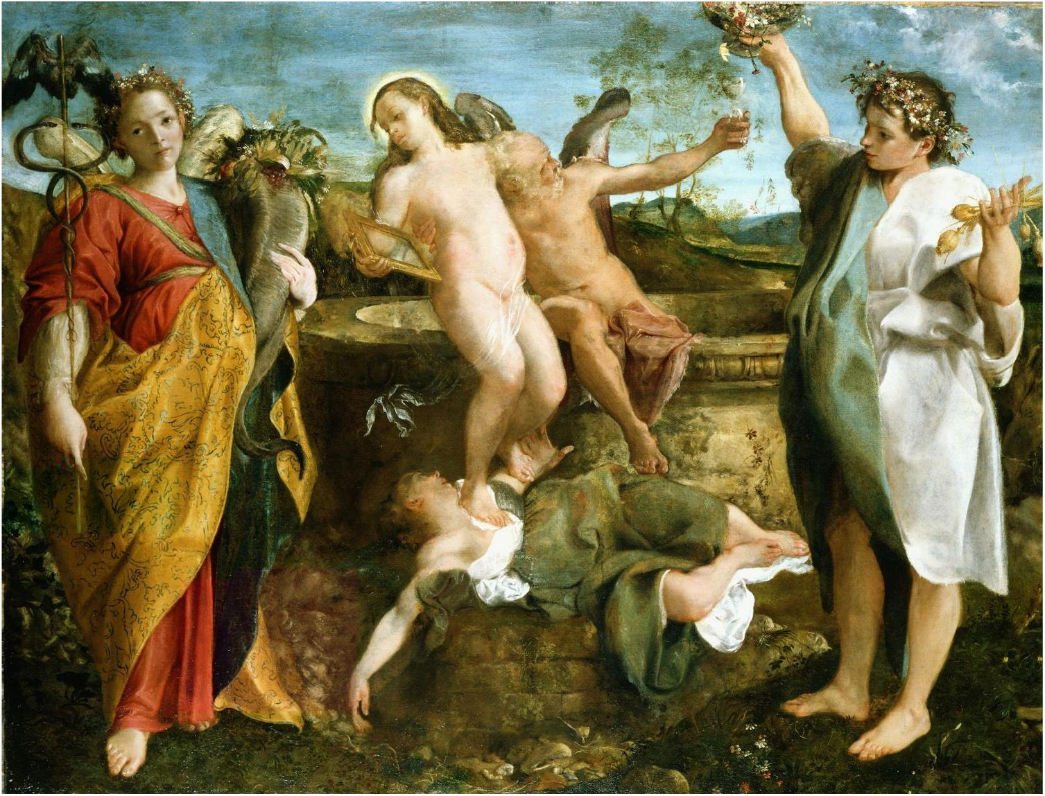 An allegory of truth and time 1584 1585 annibale carracci an allegory of truth and time 1584 1585 annibale carracci buycottarizona