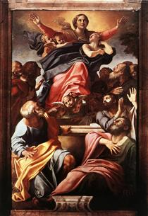 Assumption of the Virgin Mary - Annibale Carracci