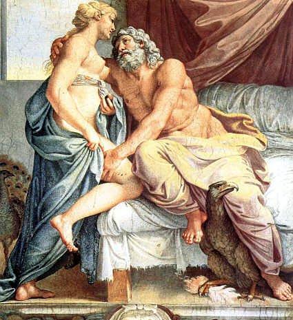 Jupiter and Juno, 1597 - Annibale Carracci