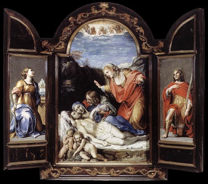 Triptych, 1605 - Annibale Carracci