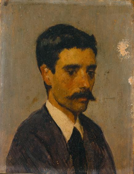 Auto-retrato, 1873 - António de Carvalho da Silva Porto