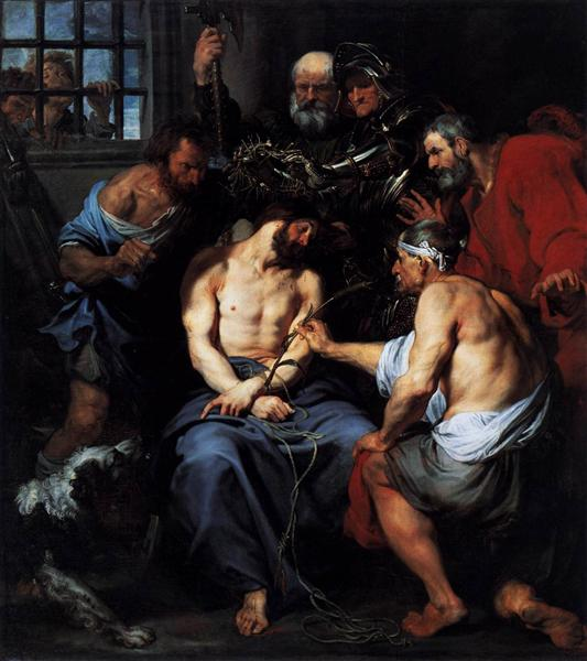 Crowning with Thorns, 1618 - 1620 - Anthony van Dyck