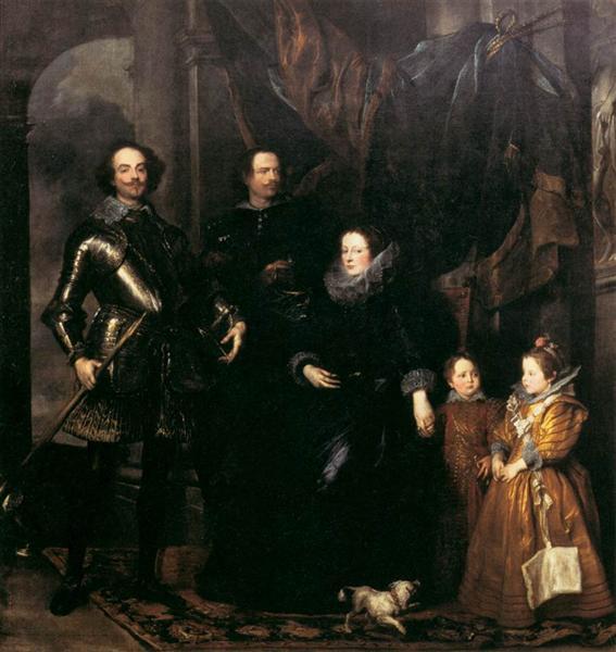 The Lomellini Family, 1626 - 1627 - Anthony van Dyck