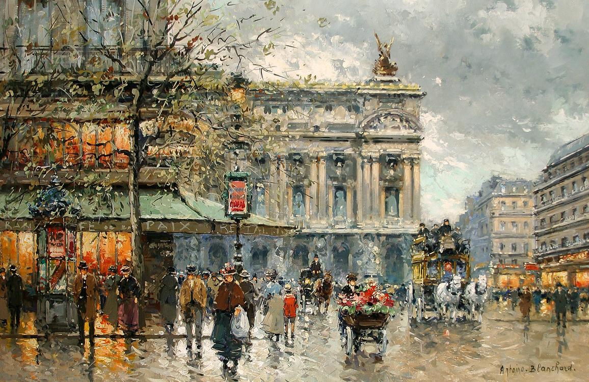 Caf de la paix antoine blanchard encyclopedia of visual arts - Camif paris ...