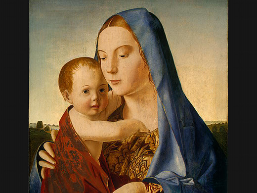 Madonna and Child, 1475 - Antonello da Messina