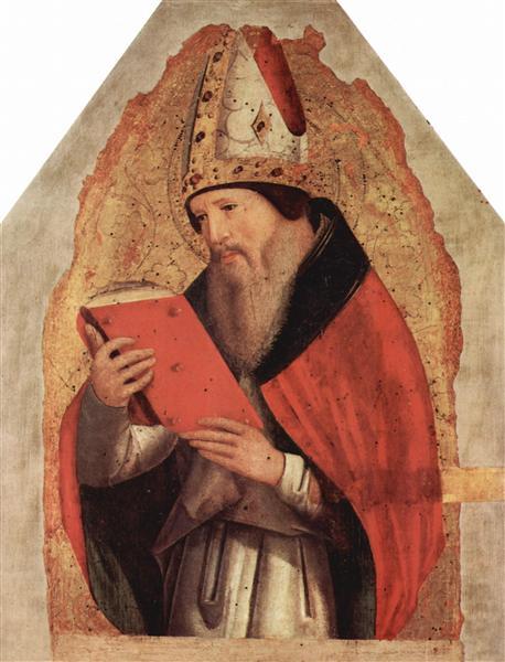 St. Augustine, c.1472 - Antonello da Messina