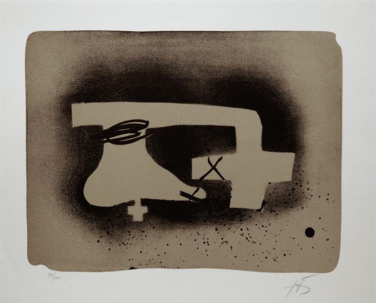 Erinnerungen I, 1988 - Antoni Tapies