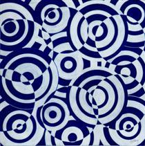 Untitled (Interférences polychromes) - Antonio Asis