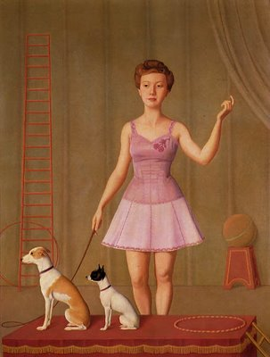 Animal Trainer, 1946 - Antonio Donghi