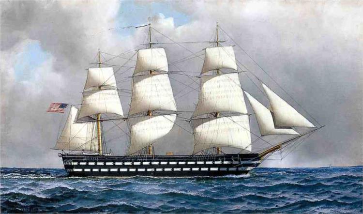 U. S. Ship-of-The-Line, 1916 - Антонио Якобсен