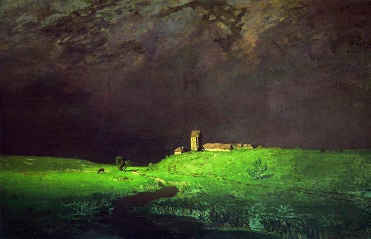 After a Rain, 1879 - Arkhip Kuindzhi