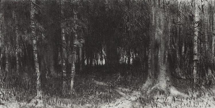 Forest, c.1870 - Arkhip Kuindzhi