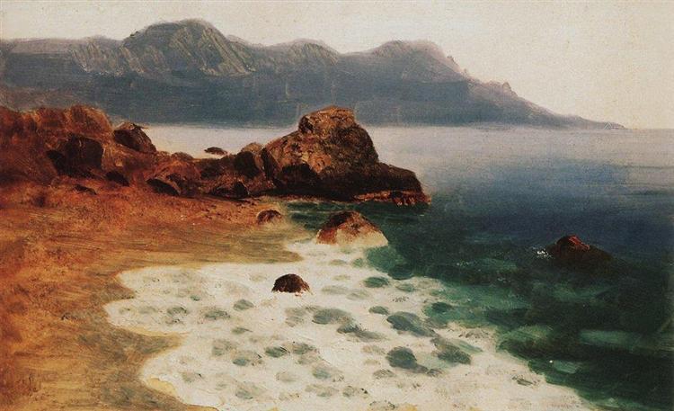 Seashore, c.1890 - Arkhip Kuindzhi