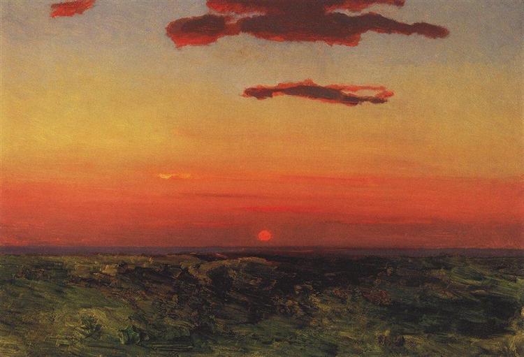 Sunset, c.1908 - Arkhip Kouïndji