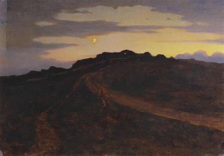 Twilight, c.1895 - Arkhip Kuindzhi