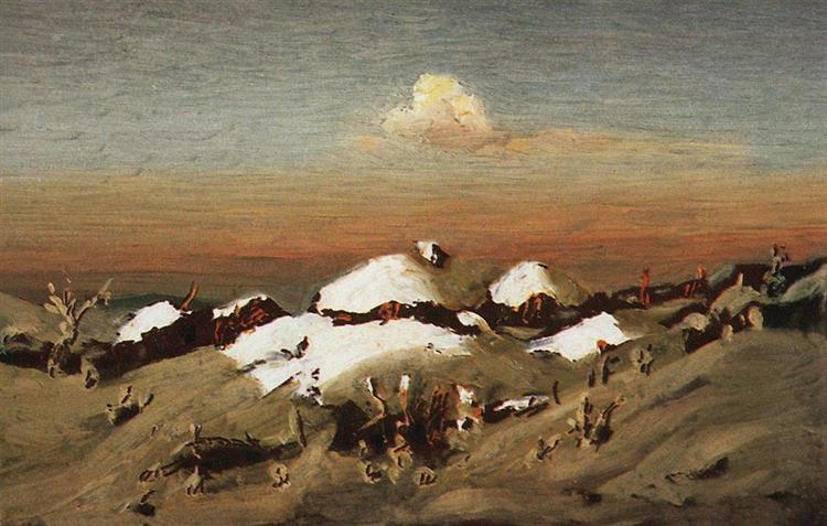 Winter, c.1895 - Arkhip Kuindzhi