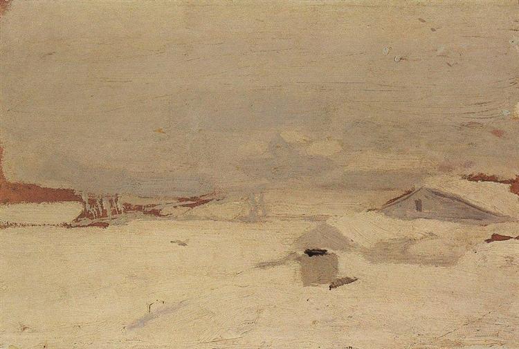 Winter, c.1895 - Arkhip Kuindzhi