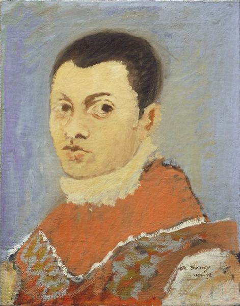 Portrait of a Young Man, 1924 - 1927 - Аршиль Горкі