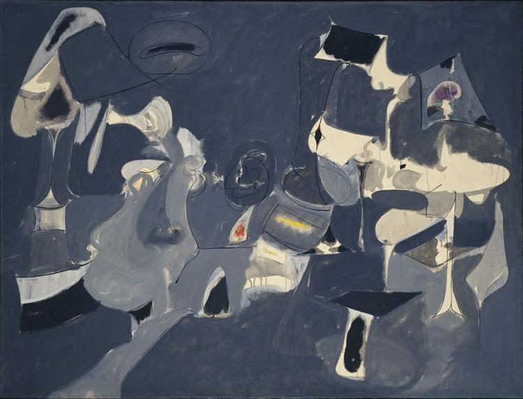Soft Night, 1947 - Arshile Gorky
