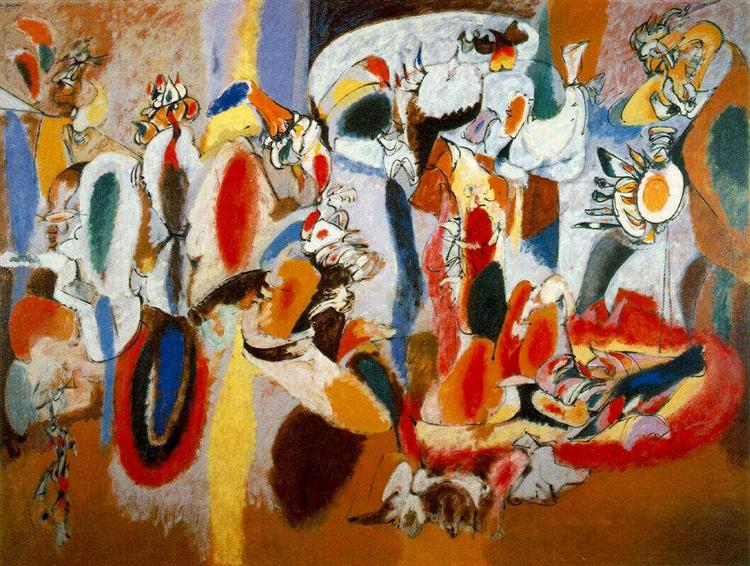 The Liver is the Cock's Comb, 1944 - Arshile Gorky