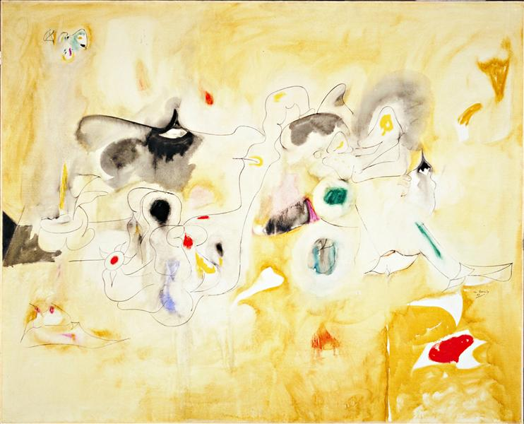 The Plough and the Song, 1947 - Arshile Gorky