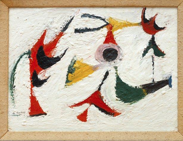 Tracking Down Guiltless Doves, 1936 - Arshile Gorky