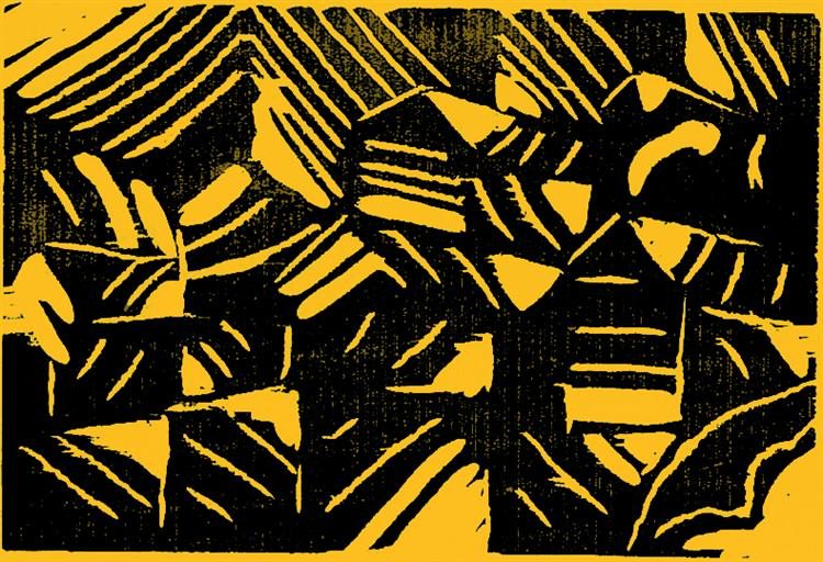 Woodburning - Артур Сегал