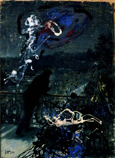Paris by Night (Defiguration), 1959 - Asger Jorn