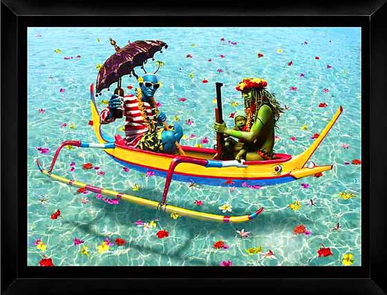 Yellow Canoe, 2010 - Ashley Bickerton