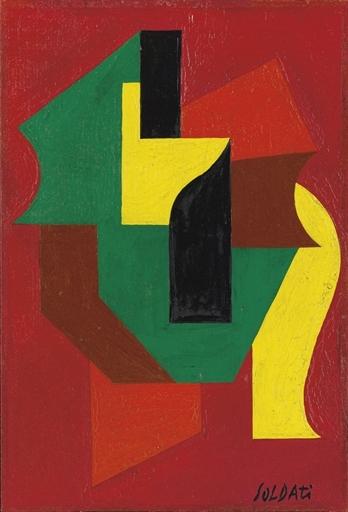 Composizione, 1944 - Atanasio Soldati