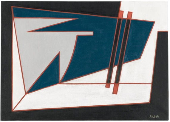 Composizione, 1951 - Анастазіо Солдаті