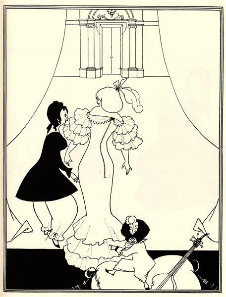 Ballet of Marionettes III, 1894 - Aubrey Beardsley