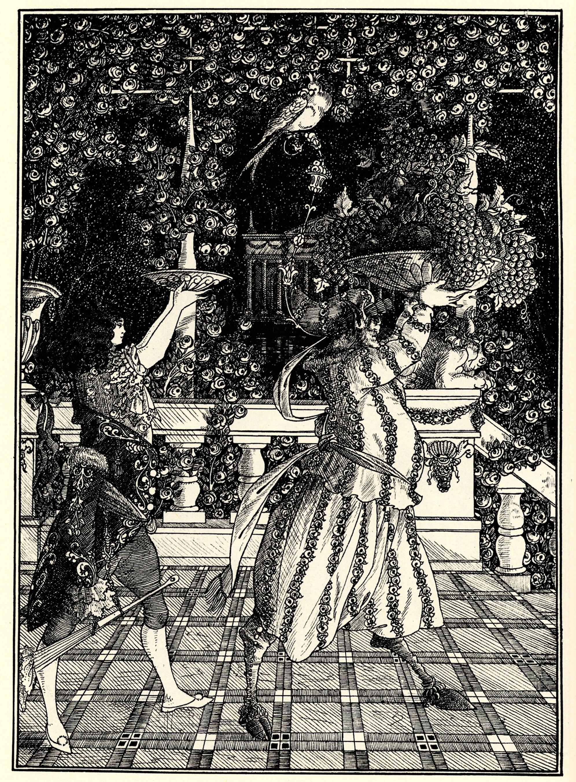 The Fruit Bearers, 1895 - 1896 - Aubrey Beardsley ...