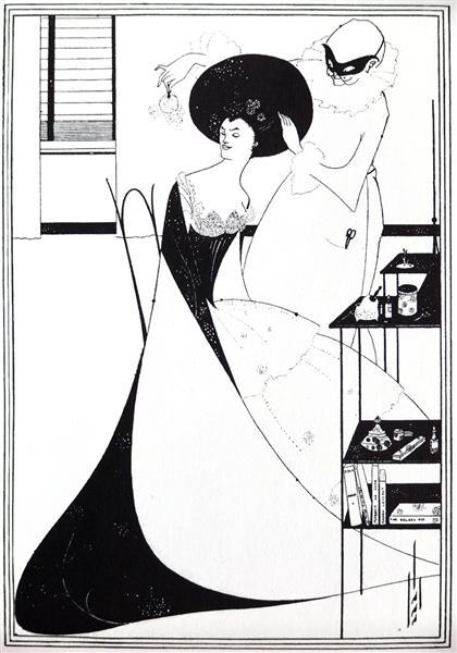 The Toilet of Salome, 1894 - Aubrey Beardsley
