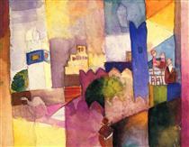 Kairouan (III) - August Macke
