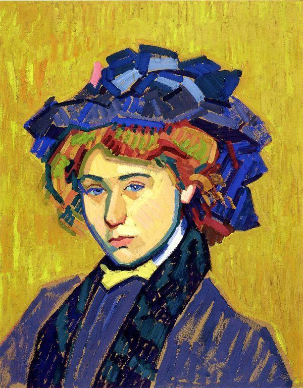 Portrait de jeune fille auguste herbin for Auguste herbin