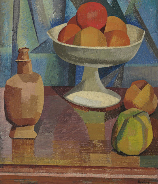 Still life with oranges 1911 auguste herbin for Auguste herbin