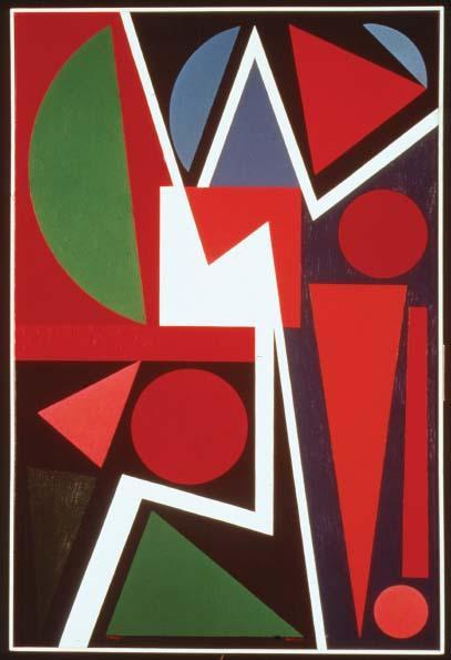 Storm, 1953 - Auguste Herbin