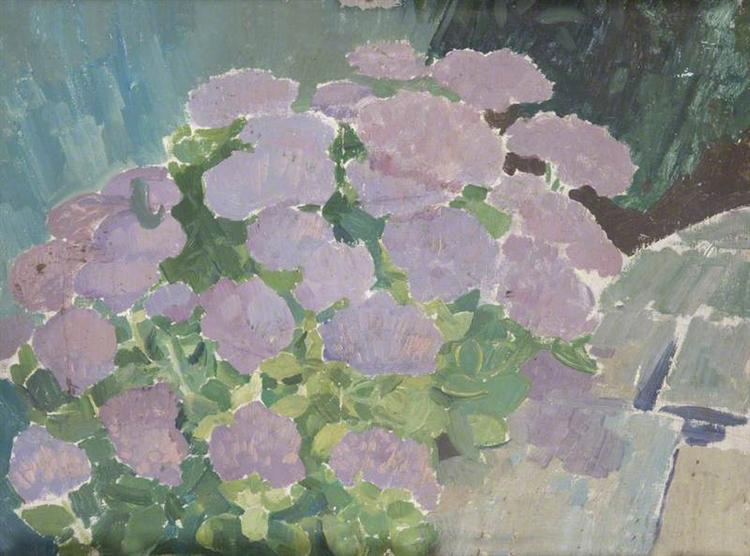 Hydrangeas - Augustus John