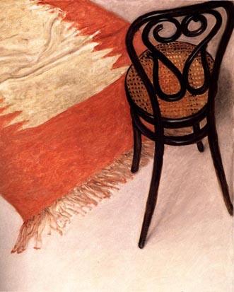 Thonet Chair and Carpet, 1991 - Avigdor Arikha