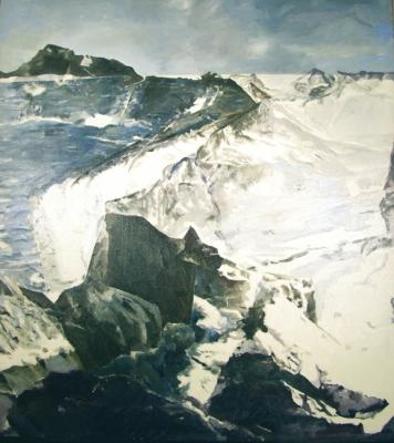 Meeting of Land and Sea, 1975 - Balcomb Greene