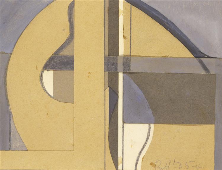 Untitled (35-4), 1935 - Balcomb Greene