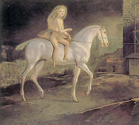 Girl on a white horse, 1941 - Balthus