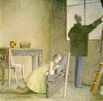 Painter and his Model - Бальтюс